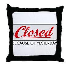 hangover Throw Pillow