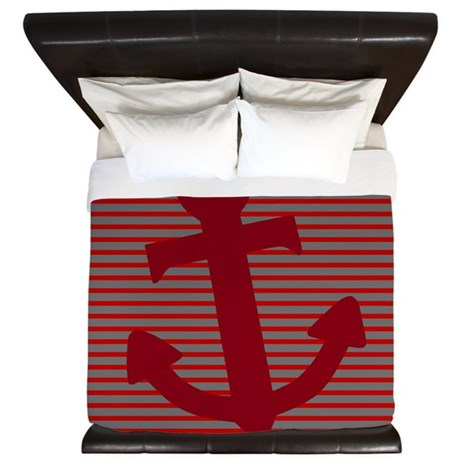 'Nautical' King Duvet