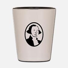 George Washington Portrait Shot Glass