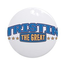 The Great Tristin Ornament (Round)