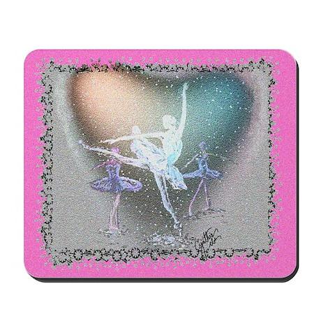 """Nutcracker Ballet """"Snow"""" Mousepad"""