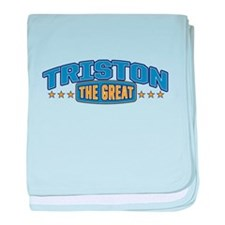 The Great Triston baby blanket