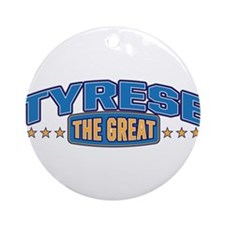 The Great Tyrese Ornament (Round)