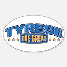 The Great Tyrese Decal