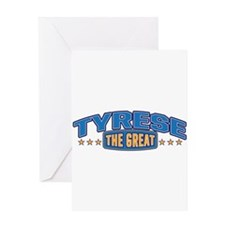 The Great Tyrese Greeting Card