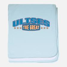 The Great Ulises baby blanket