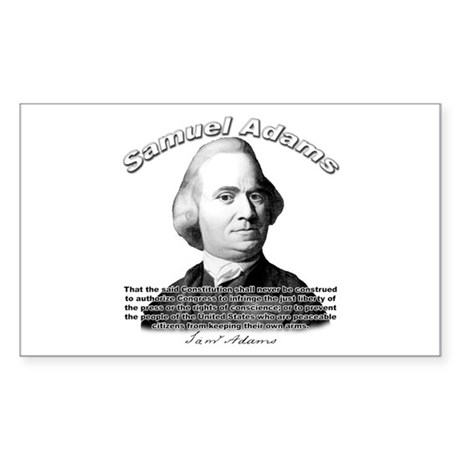 Samuel Adams 01 Rectangle Sticker