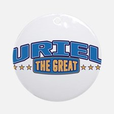 The Great Uriel Ornament (Round)