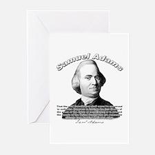 Samuel Adams 01 Greeting Cards (Pk of 10)