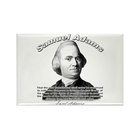 Samuel Adams 01 Rectangle Magnet (100 pack)