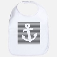 'Gray Anchor' Bib