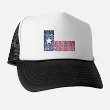 Distressed Texas Flag Trucker Hat