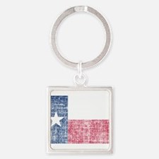Distressed Texas Flag Keychains