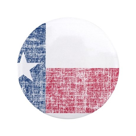"""Distressed Texas Flag 3.5"""" Button (100 pack)"""