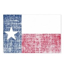 Distressed Texas Flag Postcards (Package of 8)