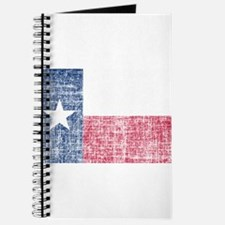 Distressed Texas Flag Journal