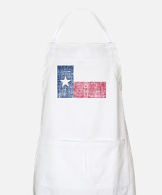Distressed Texas Flag Apron