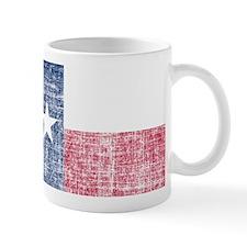 Distressed Texas Flag Mug