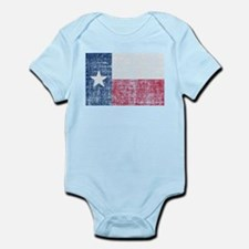 Distressed Texas Flag Body Suit