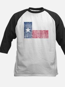 Distressed Texas Flag Baseball Jersey