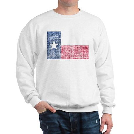 Distressed Texas Flag Sweatshirt