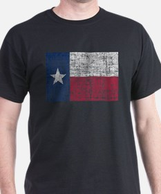 Distressed Texas Flag T-Shirt