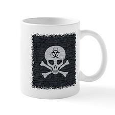 Skull Crossbones (brick wall) Mug