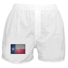 Texas Flag Faded Boxer Shorts