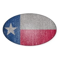 Texas Flag Faded Decal