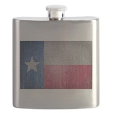Texas Flag Faded Flask