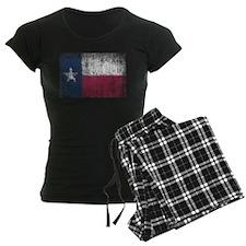 Beaten Texas Flag Pajamas