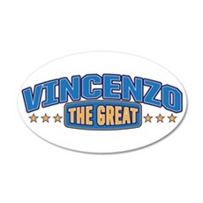 The Great Vincenzo Wall Decal