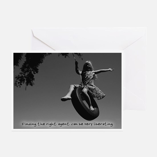 Right Agent Liberating Greeting Cards (Pack of 6)