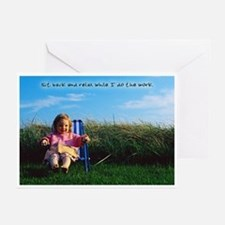 Relax While I Work Greeting Cards (Pk of 10)