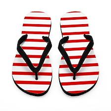 'Nautical' Flip Flops