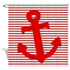 'Nautical' Shower Curtain