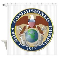 NOAA - Commissioned Corps Shower Curtain