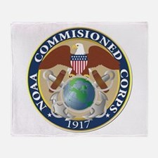 NOAA - Commissioned Corps Throw Blanket
