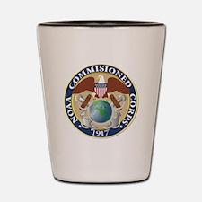 NOAA - Commissioned Corps Shot Glass