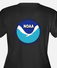 NOAA - Commissioned Corps Women's Plus Size V-Neck