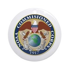 NOAA - Commissioned Corps Ornament (Round)