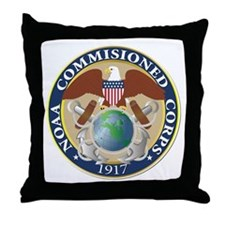 NOAA - Commissioned Corps Throw Pillow