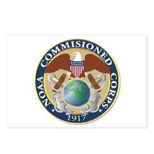 NOAA - Commissioned Corps Postcards (Package of 8)