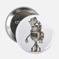 """Medieval Robot 2.25"""" Button (10 pack)"""