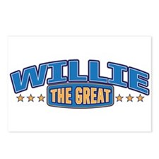 The Great Willie Postcards (Package of 8)