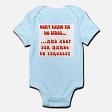 Hands To Yerself Infant Bodysuit