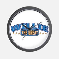 The Great Willie Wall Clock