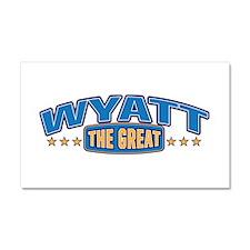 The Great Wyatt Car Magnet 20 x 12