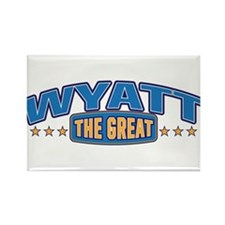 The Great Wyatt Rectangle Magnet