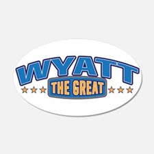 The Great Wyatt Wall Decal